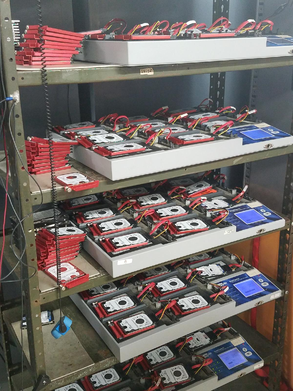hard drive formatting and duplication for digital kiosk repair