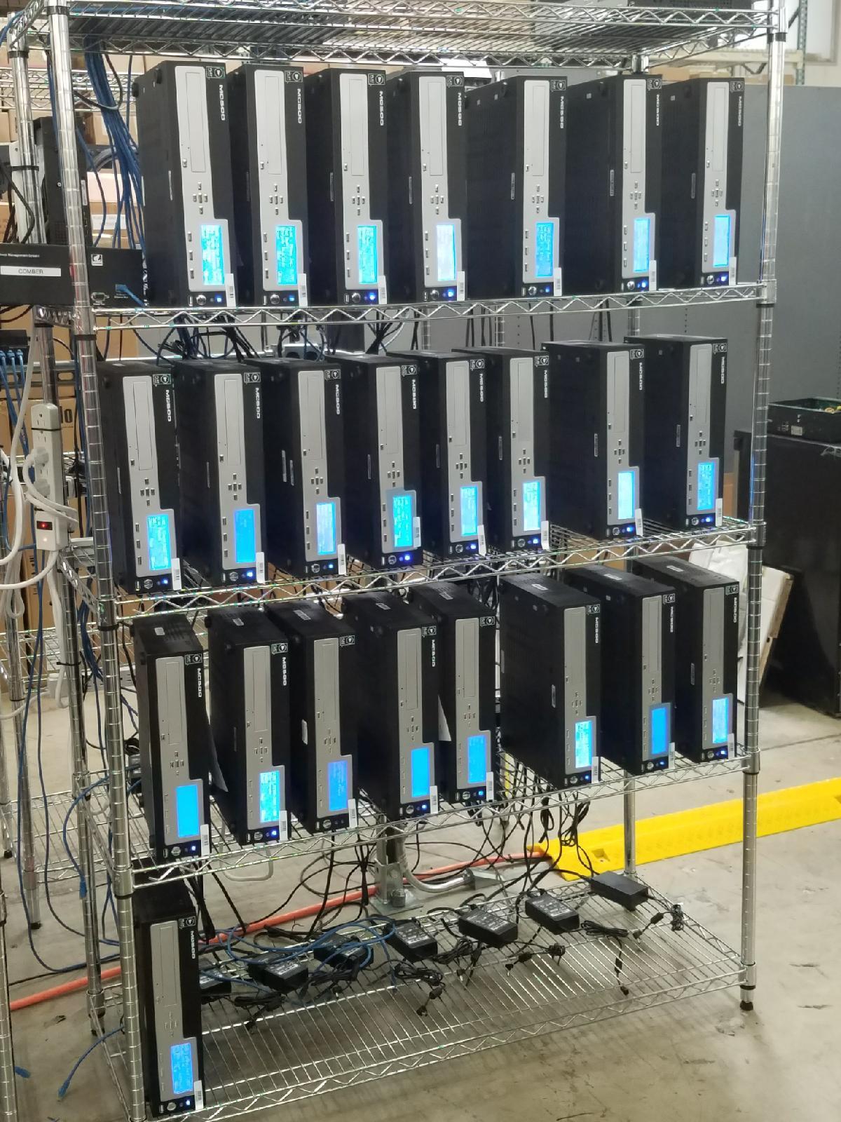 Media player diagnostics, repair, programming & testing for digital kiosk repair