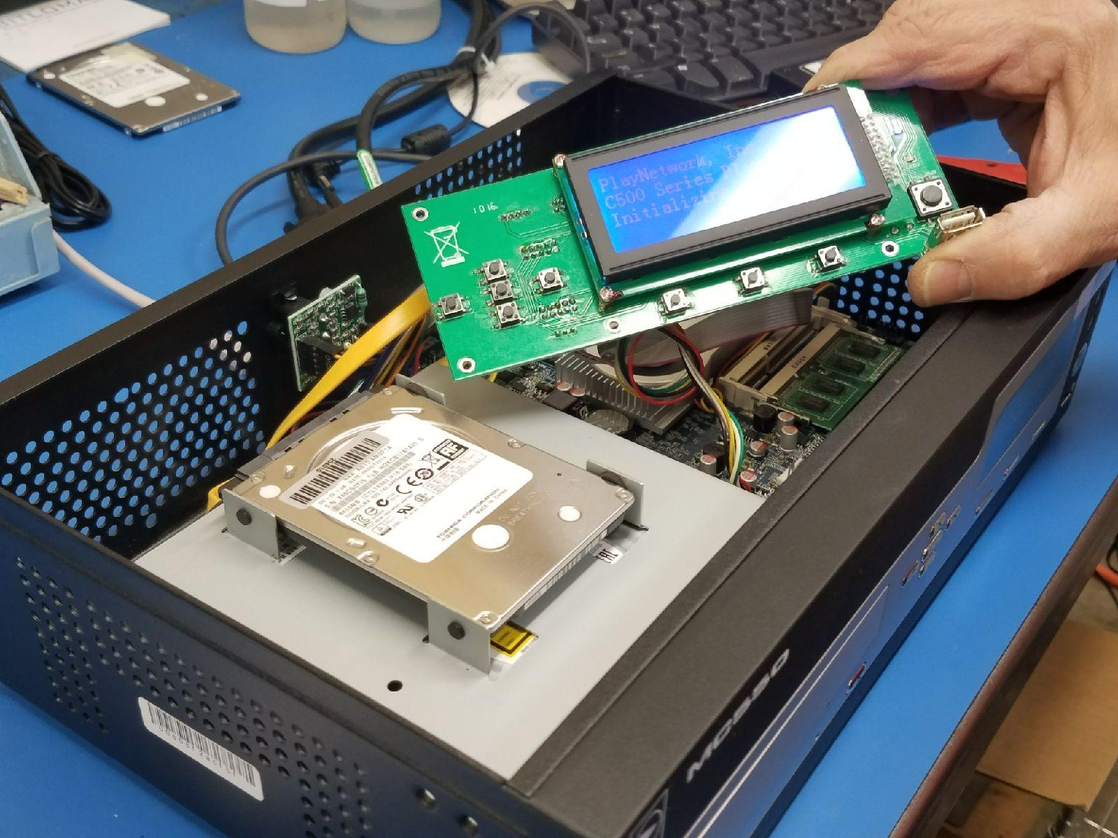 troubleshooting media player problems for digital kiosk repair services
