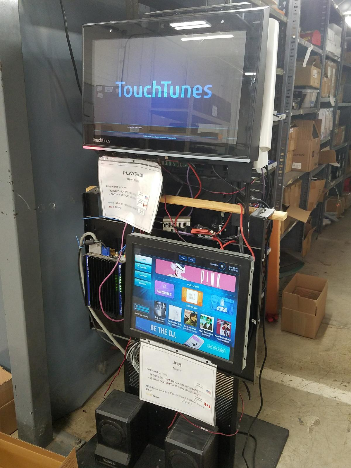 digital media client test fixture that Advanced Technical Services uses to test digital kiosks