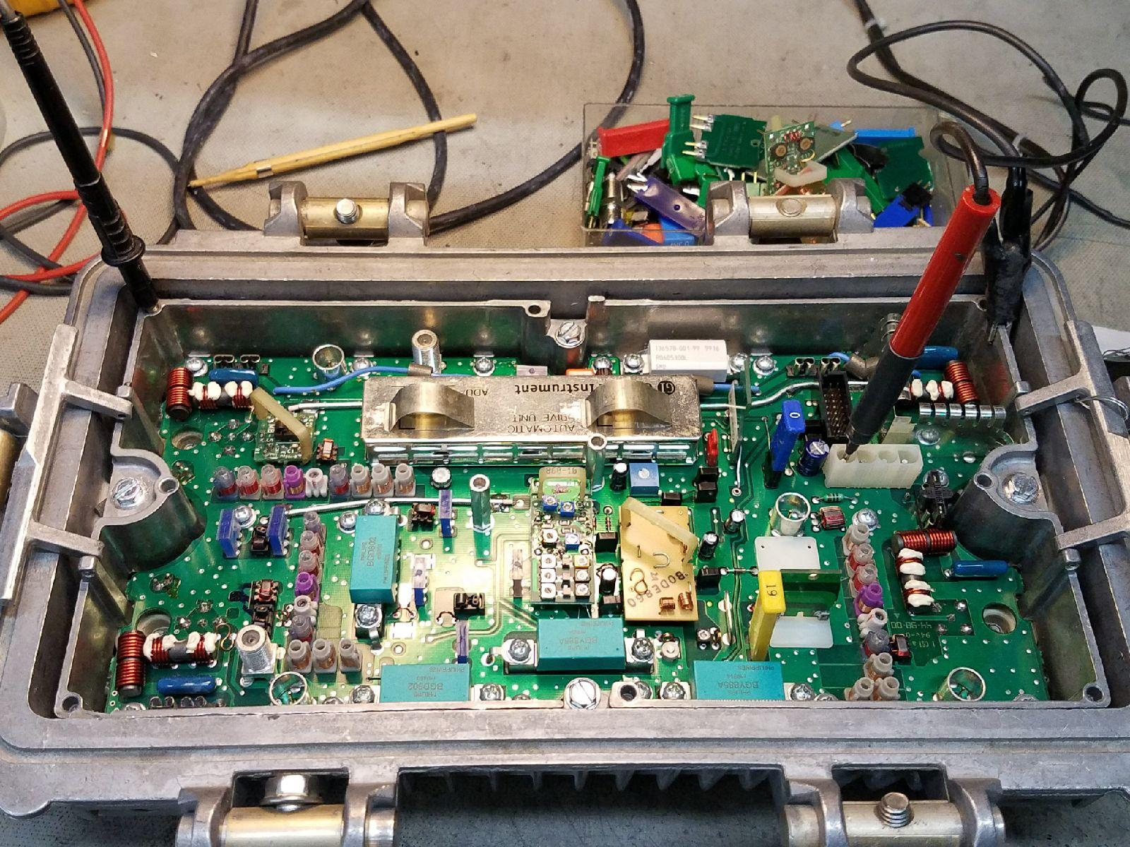 cable equipment distribution repair circuit board work