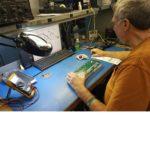 repairing telecom equipment at a component level